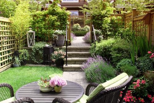 Beplanting strakke moderne tuin, hier moet je op letten