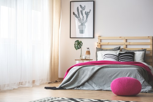 slaapkamer gordijnen