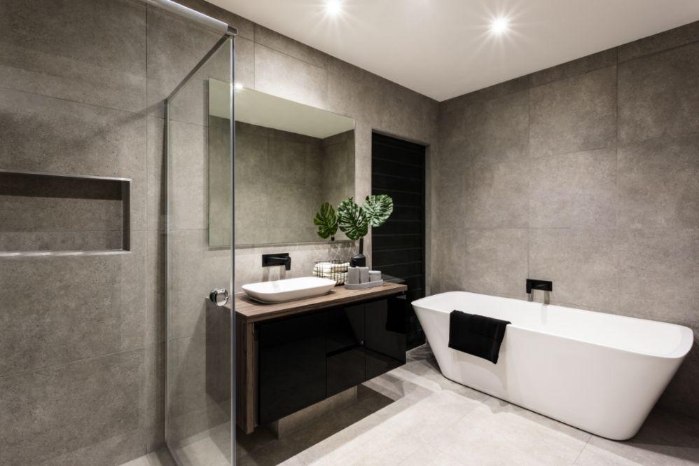 Het inrichten van de badkamer