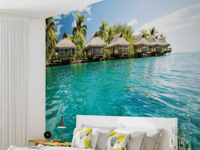 Breng je woonkamer tot leven met fotobehang