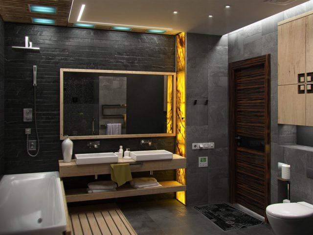 Meer luxe in de badkamer met een regendouche